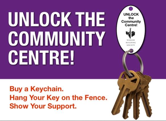 Unlock the Community Centre